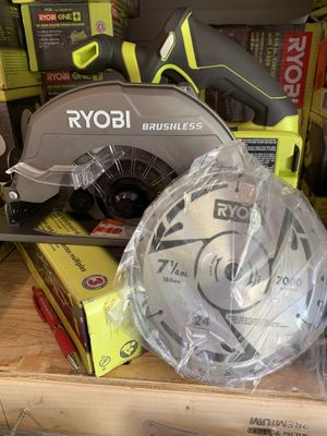 Brand new ryobi brushless 7-1/4 circular saw not negotiable for Sale in Plant City, FL