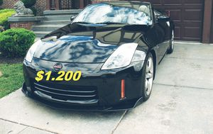 ⭐️🔑👉Sell fast $1,2OO Such a beautiful car. Nissan 350Z no issue. FWD/Wheelss 👈🔑⭐️ for Sale in Washington, DC