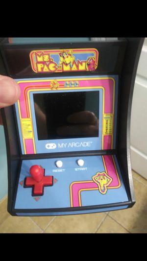 Ms. Pac Man Micro Arcade Game for Sale in Miami, FL