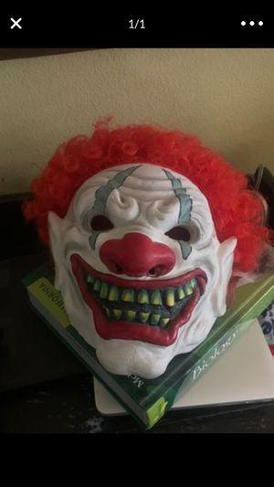 Clown mask for Sale in Escondido, CA