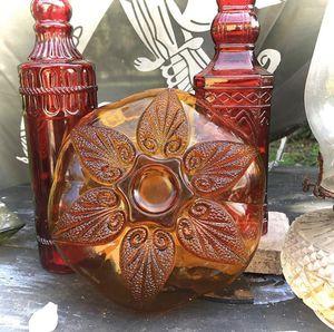 Vintage Amber Glass Ashtray for Sale in Miami Shores, FL