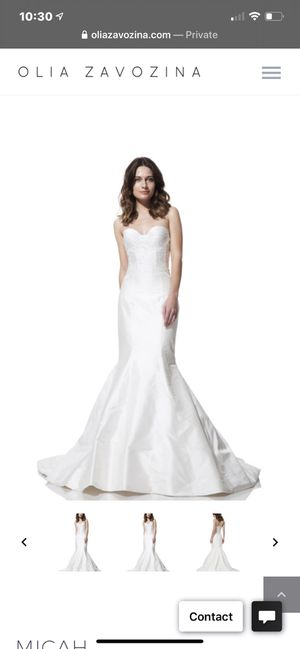 Floor sample - $3,500 MSRP Olía Zavozina BEAUTIFUL Couture Silk UNWORN Wedding Gown Dress 85% off!!! Size 10 for Sale in San Diego, CA