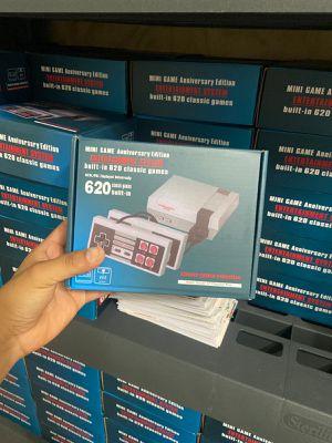 MINI RETRO GAME Anniversary edition, 620 classics games, mini Nintendo for Sale in Hollywood, FL