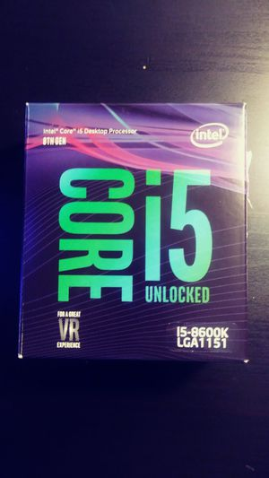 Intel i5 8600K 3.5 to 4.2 turbo (make a fair offer) for Sale in St. Louis, MO