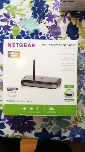 Netgear Xfinity router and modem with box for Sale in Cambridge, MA