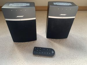 Bose SoundTouch 10 (2 of them) for Sale in Medina, WA