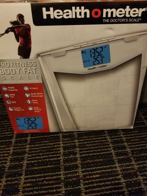 Health O meter Pro Fitness Body Fat Scale for Sale in Pine Hills, FL