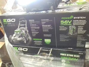 GO 56 volt lithium ion electric lawn mower with battery and charger for Sale in Phoenix, AZ