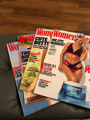 4 Women's Health Magazine for Sale in Oak Lawn, IL