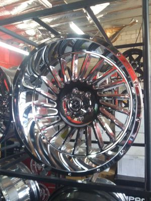 22X12 HARDCORE rims 33X12.50R22 mt 6/139 for Sale in Phoenix, AZ