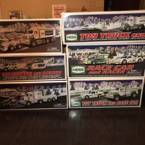 13 Peice Hess Collection All In Original Boxes for Sale in Lancaster, PA