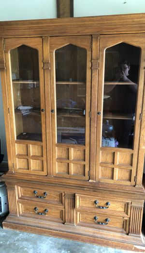 Antique china closet for Sale in Santa Ana, CA