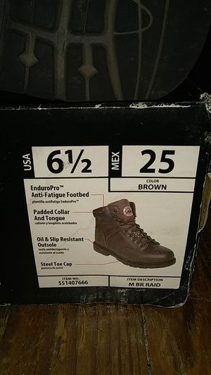 Steel Toe Boots for Sale in Hamilton Township, NJ