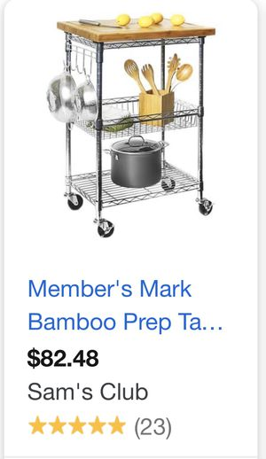 Prep table/ kitchen island/ utility cart for Sale in Columbia, SC