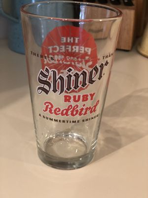 (IRVING, TX) Shiner Ruby Redbird Beer Pint Glass for Sale in Irving, TX