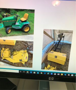 John Deere mower deck, tiller, and lawn tractor for Sale in Gresham, OR