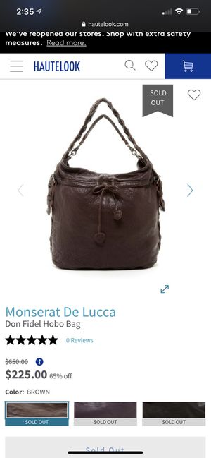 Monserat de Luca hobo bag NEW for Sale in Denver, CO