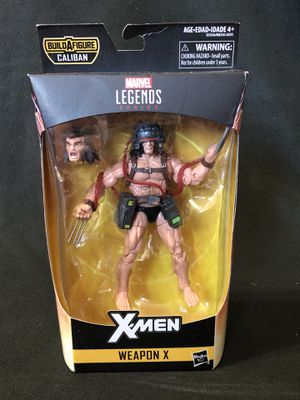 Marvel Legends Weapon X Caliban NO BAF for Sale in Alhambra, CA