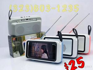 Retro TV Shaped Speaker • Perfect for Long Phones • Notes/Galaxy Plus/Stylos/Big iPhones for Sale in Los Angeles, CA