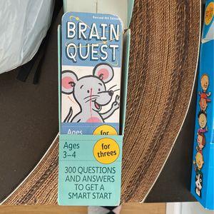 Brain Quest Ages 3-4 for Sale in Des Plaines, IL