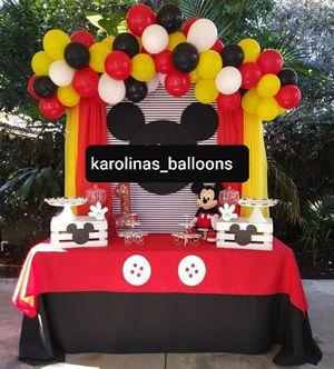 Balloon garland 🎈🎈🥳🥳 decoracion de globos for Sale in Corona, CA