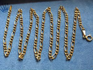 Gold Figaro Chain for Sale in Lynwood, CA