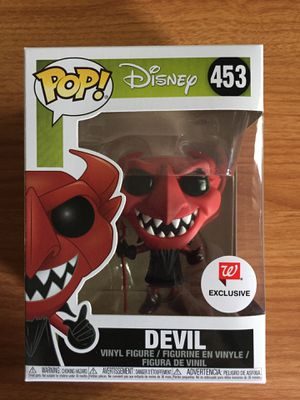 Funko pop the devil Walgreens exclusive Disney the nightmare before Christmas for Sale in Bedford, TX