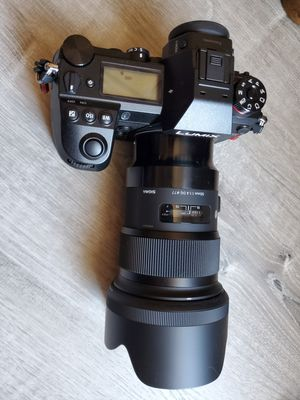 Panasonic s1r/ Sigma 50mm 1.4 L mount for Sale in Phoenix, AZ