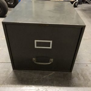 Gray one drawer file cabinet for Sale in Pawtucket, RI
