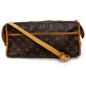 Authentic Louis Vuitton Popincourt Long M40008 Brown Monogram Shoulder Bag 11387 for Sale in Plano, TX