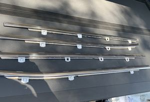 2014 and up GMC Chevy crew cab 1500 2500 chrome window belt molding for Sale in Ontario, CA