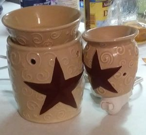 Scentsy Rustic Star Warmers for Sale in Sedro-Woolley, WA