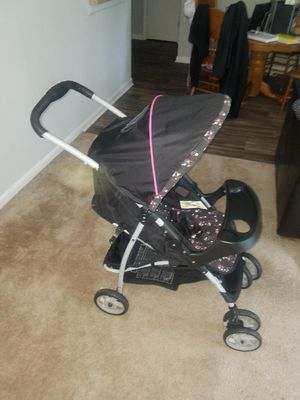Graco LiteRider Click Connect Travel System Stroller and carseat for Sale in Marietta, GA