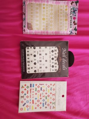 Nail stickers 3 for $10 for Sale in Springfield, VA