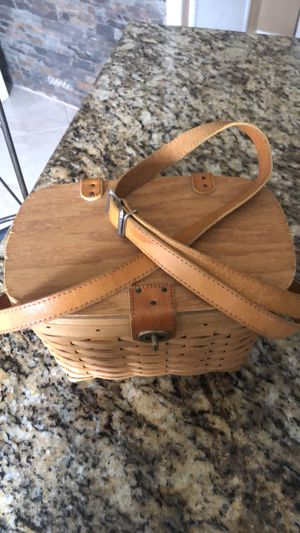 Longaberger Basket Bag for Sale in Plantation, FL