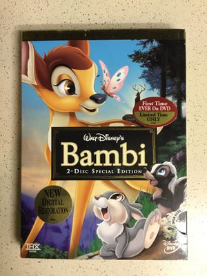 Bambi Collectors DVD for Sale in Nashville, TN