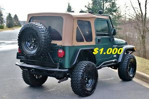 🔥🔑🔑$1000🔑🔑 For Sale URGENT 🔑🔑2000 Jeep Wrangler CLEAN TITLE🔑🔑 for Sale in New Haven, CT