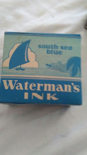 Vintage Waterman's Ink! South Sea Blue! for Sale in Pen Argyl, PA