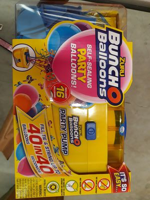 Zuru Bunch O Balloons Party Pump for Sale in Riverdale, GA