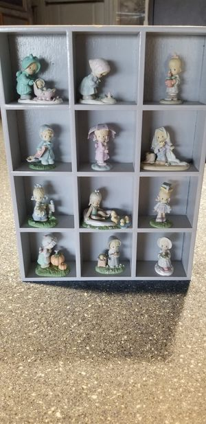 1989 collection of 12 months/ precious moments for Sale in Cape Coral, FL