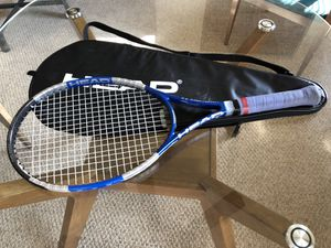 Head Liquidmetal 4 Tennis Racquet w/ Carrying Case Mid Plus for Sale in Neptune City, NJ