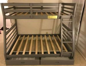 Bunk bed twin over full size with drawers for Sale in Phoenix, AZ