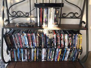 DVD's 100's & Samsung DVD Player for Sale in Delray Beach, FL