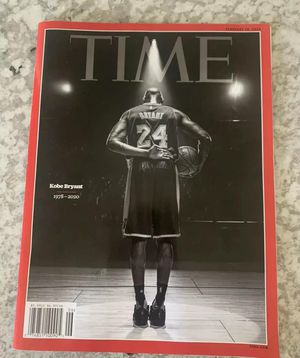 Kobe Bryant Time Magazine February 2020 Tribute Issue Jersey for Sale in Los Angeles, CA