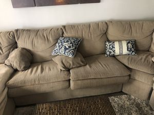 Tan 5 seat couch for Sale in Vista, CA