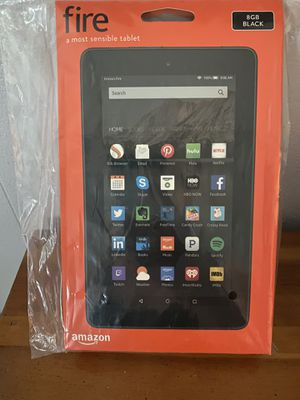 Brand new sealed in box amazon 8gb fire tablet for Sale in Washougal, WA