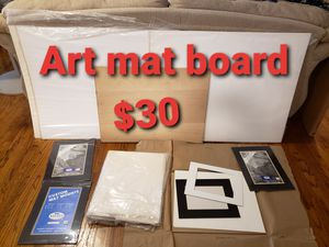 Art photography supplies mat boards for Sale in Covina, CA