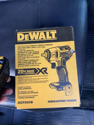 Dewalt compact wrench for Sale in Boston, MA