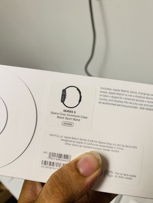 Apple Watch series 5 44mm GPS only sealed pack for Sale in Dallas, TX