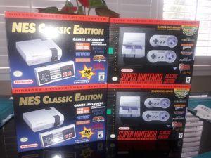 🔥🎮 NES & SNES CLASSIC MINI 🎮🔥 for Sale in Los Angeles, CA